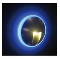 oscled Y6 QP 2x1w indoor steplight warmwhite  diameter 51x28