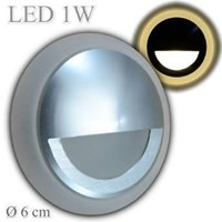 oscled Y102-QP 1w indoor steplight warmwhite diameter 58x30mm 1