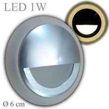 oscled Y102-QP 1w indoor steplight warmwhite diameter 58x30mm