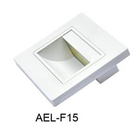 oscled F15w 1w Indoor Steplight warmwhite 93x93x31mm