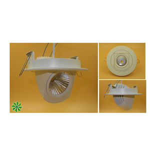 Lampu LED Lampu Plafon Downlight 7Watt COB LED