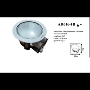 Lampu Downlight Pakai Kaca 6inch