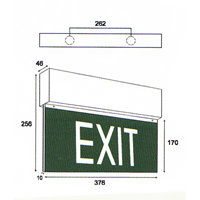 Jual Lampu LED Oscled Exit Sign 2