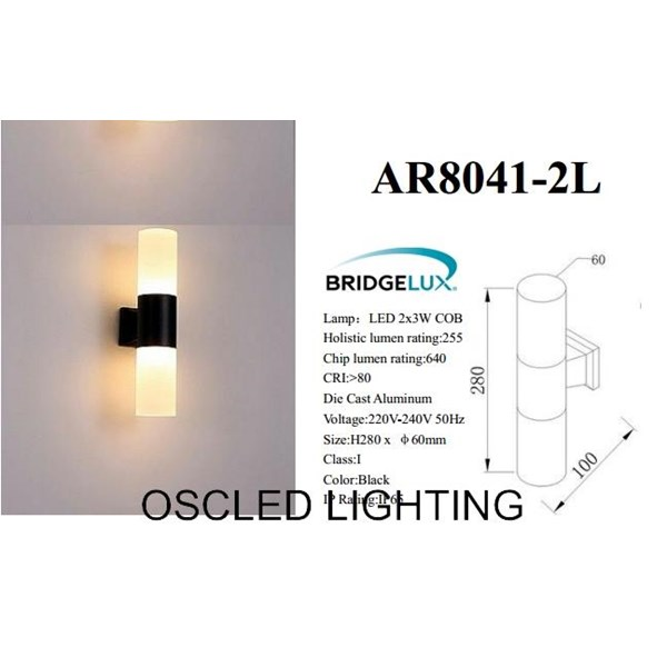 LED Wall light 3W COB 1Lamp