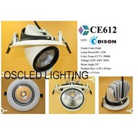 Lampu Keong Spotlight LED 12W 1