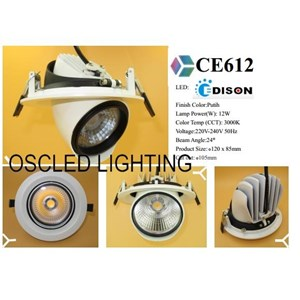 Lampu Keong Spotlight LED 12W