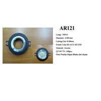 Lampu Downlight Rumah Lampu MR16 (AR121) Black Silver 1