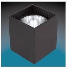 Lampu Downlight Timbul SKY834 Persegi 3.5'' Putih - Hitam