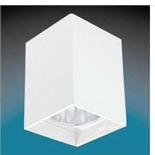 Lampu Downlight Timbul SKY844 Persegi 4'' Putih - Hitam