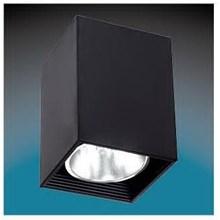 Lampu Downlight Timbul SKY854 Persegi 5'' Putih - Hitam