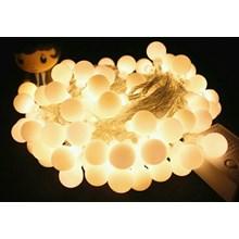 Lampu LED Natal Bulat Mono Colour