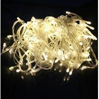 Lampu LED Natal Beras 10m Single Colour