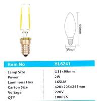 Lampu LED HL6241 2W