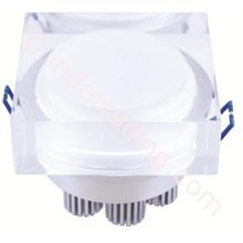 Oscled Led Downlight 3X1w Square Tipe Ds-0350
