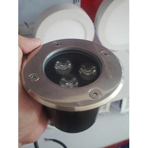 Lampu Taman LED Inground Uplight 3X1w Mdd-003