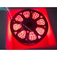Lampu Led Rope Light Smd 3528 Outdoor Merah100 Meter