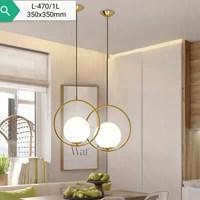 Lampu Gantung Dekoratif L-470/1L  Fitting E27