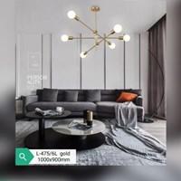 Lampu Gantung Dekoratif L-475/6L Fitting E27
