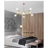 Lampu Gantung Dekoratif L-634/8L  Fitting E27