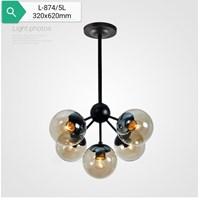 Lampu Gantung Dekoratif  L-874/5L Fitting E27