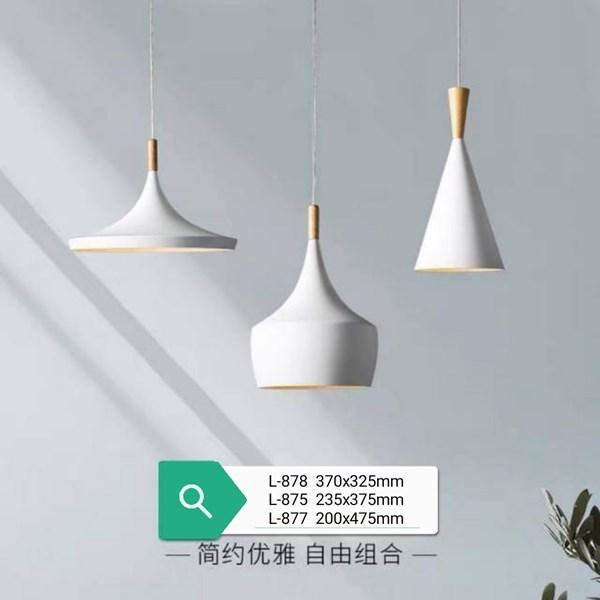 Lampu Gantung  Dekoratif L-878/1L  Fitting E27