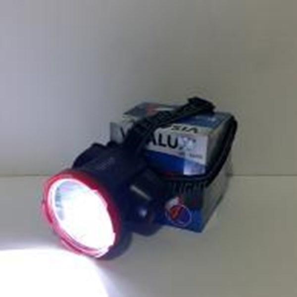 senter kepala led visalux 1 led ( 5watt ) VS-5055 DL