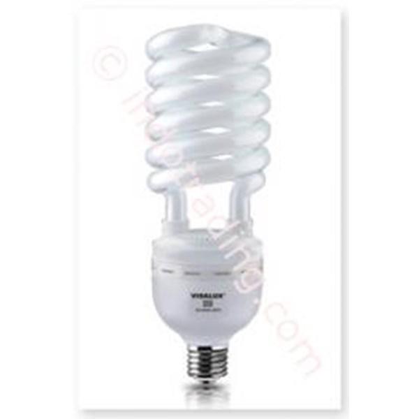 Lampu Bohlam Visalux lucent  Twist 35W e27 8000h cdl