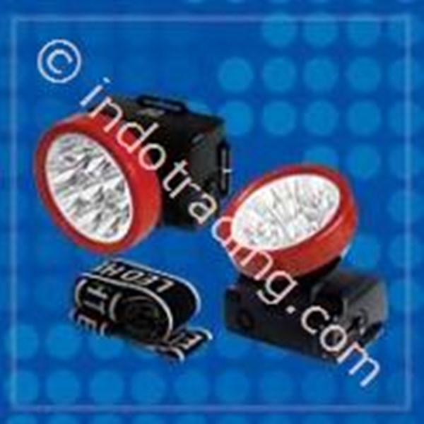 Head Lamp Senter Led Visalux 9 Led Type 609