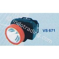 Senter Kepala Led Visalux 1 Led (0.5W) Tipe Vs 671