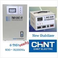 Beli Stabilizer Chint 1 Phase 5000 VA 4