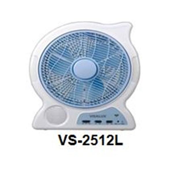 Kipas Angin Berdiri Emergency Visalux VS 2512L