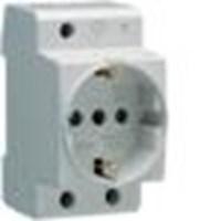Stop Kontak Din Rail Socket ( Schuko Standard 16A ) SN010 1