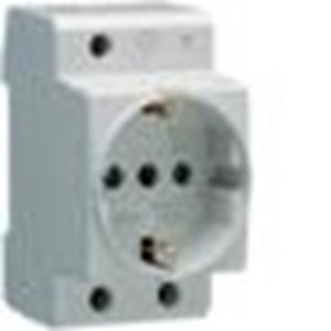 Stop Contact Din Rail Sockets (Schuko Standard 16A)