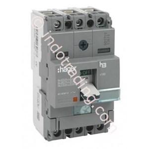 Dari Mccb Hager 2 Phase (2Pole) 18Ka Rating 16A-80A Type HDA015P-HDA079P 0