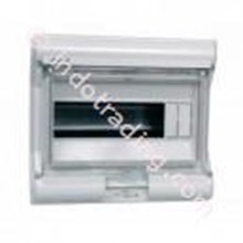 Aksesoris Listrik Vector Hager Pintu Transparan 10 Module 1 Row VE 110U