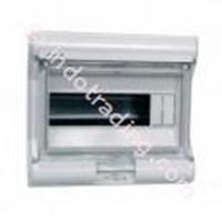 Aksesoris Listrik Vector Hager Pintu Transparan 12 Module 1 Row VE 112U