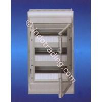 Aksesoris Listrik Vector Hager pintu transparan 36 Module 3 Row VE 312U