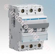 Mcb Hager Triple Phase (3Pole)10kA 50A tipe MU350A