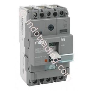 Dari Mccb Hager 3 Phase (3Pole) 40kA 16A Tipe HNA016P 0