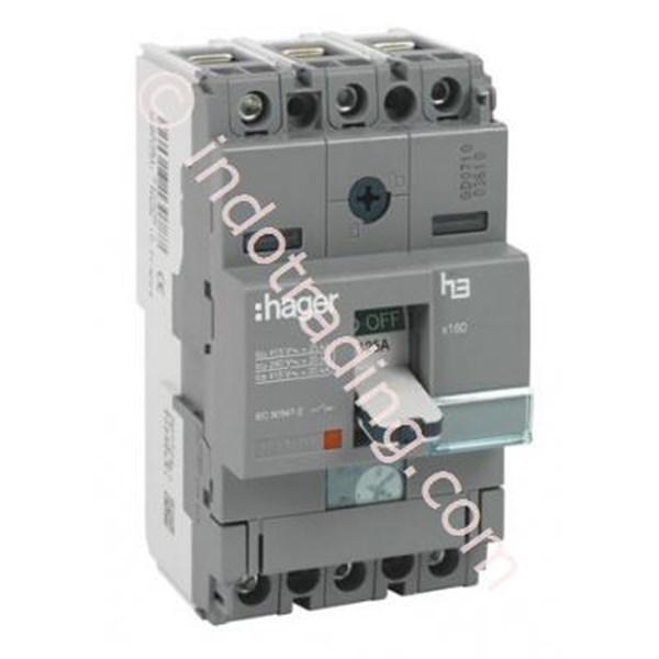Mccb Hager 3 Phase (3Pole) 40kA 16A Tipe HNA016P