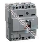 Mccb Hager 4 Phase (4Pole) 18kA 125A Tipe HDA126P 1