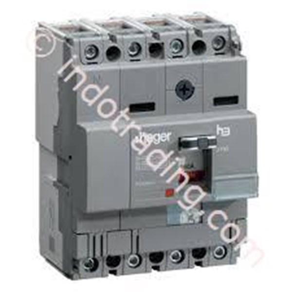 Mccb Hager 4 Phase (4Pole) 18kA 125A Tipe HDA126P