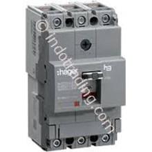 Mccb Hager 2 Phase (2Pole) 18kA 100A Tipe HDA099P