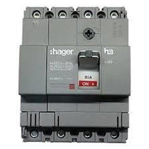 From Mccb 3 Phase (3Pole) 40Ka Hager Rating 16A-100A Type X160 0