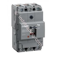 Mccb Hager 3 Phase (3Pole) 40Ka Rating 125A Type HNA160P
