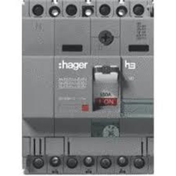 Mccb Hager 4 Phase (4Pole) 40Ka Rating 16A Type hna 017p