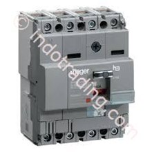 Mccb Hager 4 Phase (4Pole) 40Ka Rating 160A Type HNA161P