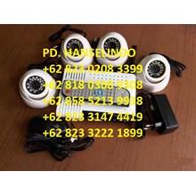 PAKET 4 KAMERA CCTV HDIS &CCD SONY EFFIO-E 700TVL MURAH