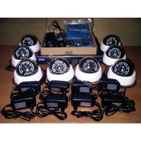 PAKET KAMERA CCTV 4/8 CHANNEL HIGH RESOLUTION SONY EFFIO E 700TVL MURAH 1