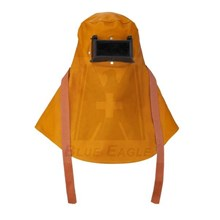 SUPPLIER ALAT SAFETY EQUIPMENT BLUE EAGLE ARC WELDING LEATHER HOOD NP901 HARGA MURAH